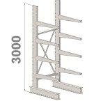 Cantilever kits 1-Sided 3000 H