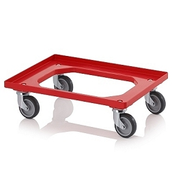 Tray and carton trolleys