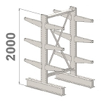 Cantilever kits 2-Sided 2000 H