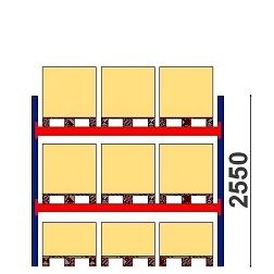 Starter & extension bays 2550 h