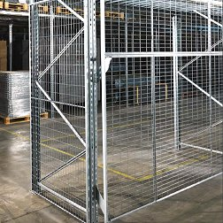 Anti collapse mesh for Pallet Racking