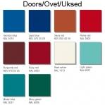 Förvaringsskåp, 10 dörrar, 1850x610x500 mm