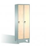 Skåp,4x300 MDF dörrar, med bänk 2090x1190x815