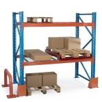 Pallställ följesektion 2550x3600 805kg/12 pallar