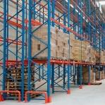 Pallställ startsektion 4500x2300 1200kg/8 pallar