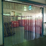 PVC plastridå Standard 2x200mm/meter
