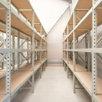 Starter bay 2200x1500x600 600kg/level,3 levels with chipboard