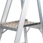 Trappstege, 3-steg, med hjul, höjd plattform 660mm
