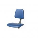 Ståstödstol, konstläder blå