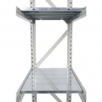 Lagerhylla startsektion 2500x1800x500 480kg/hyllplan,3 hyllor, zinkplåt