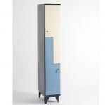 Z- Metallskåp, 4 dörrar, 1900x600x545