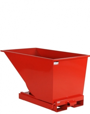Tippcontainer 600L röd