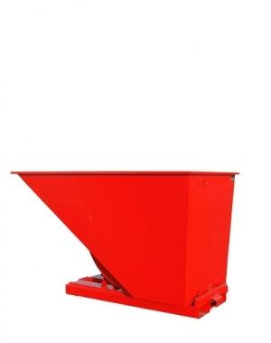 Tippcontainer 1600L röd