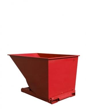 Tippcontainer 2000L röd