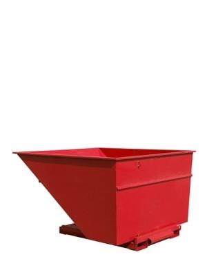 Tippcontainer 3000L röd
