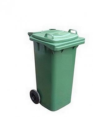 Avfallskärl 140L, grön