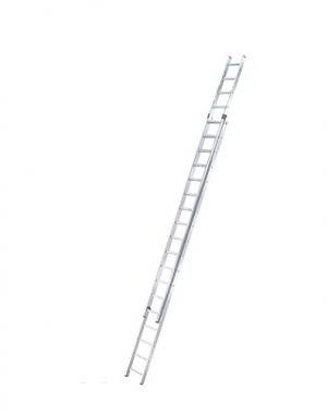 2-sektion extending ladder Prof 9,51m, 2x18 steg