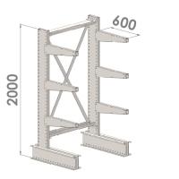 Grenställ startsektion 2000x1000x600,6 x arm