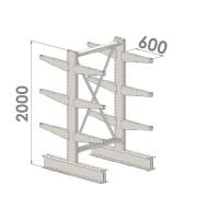 Grenställ startsektion 2000x1000x2x600,12 x arm