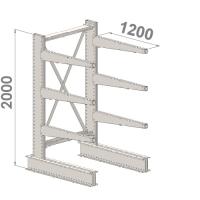 Grenställ startsektion 2000x1000x1200,6 x arm