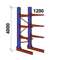 Grenställ startsektion 4000x1500x1200,6 x arm