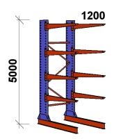 Grenställ startsektion 5000x1500x1200,8 x arm