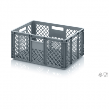 EURO CONTAINER PERFORATED 60x40x27 cm