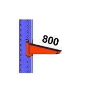 Arm 800mm/1200kg
