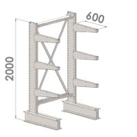Grenställ startsektion 2000x1500x600,6 x arm