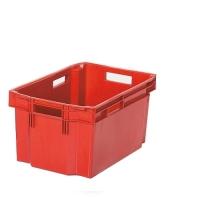 Förvaringslåda 600x400x300mm , röd