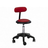 Stool Micro- Octopus with backrest, height 450-580 mm