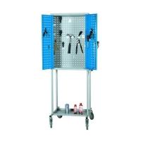 Workshop trolley with wheels 600x400x1800