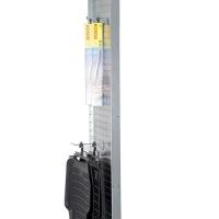 Perforerad tät gavel 2100x800