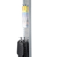 Perforerad tät gavel 2100x400