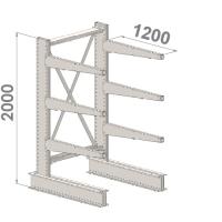 Grenställ startsektion 2000x1500x1200,6 x arm