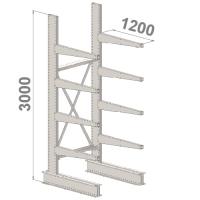 Grenställ startsektion 3000x1500x1200,8 x arm