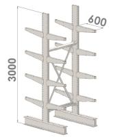 Grenställ startsektion 3000x1500x2x600,16 x arm