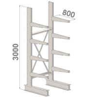 Grenställ startsektion 3000x1500x800,8 x arm