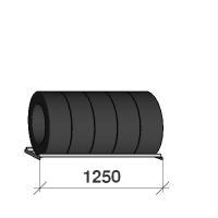 Däckhylla 1250x400