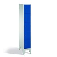 5-tier locker, 5 doors, 1850x320x500 mm