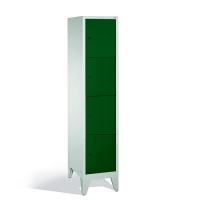 Förvaringsskåp, 4 dörrar, 1850x420x500 mm