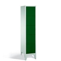5-tier locker, 5 doors, 1850x420x500 mm
