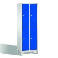 Förvaringsskåp, 4 dörrar, 1850x610x500 mm