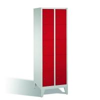 5-tier locker, 10 doors, 1850x610x500 mm