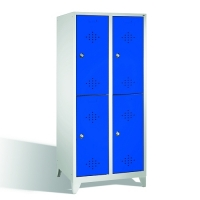 Förvaringsskåp, 4 dörrar, 1850x810x500 mm