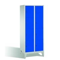 4-tier locker, 8 doors, 1850x810x500 mm