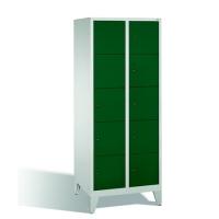 5-tier locker, 10 doors, 1850x810x500 mm