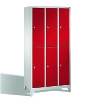 Förvaringsskåp, 6 dörrar, 1850x900x500 mm