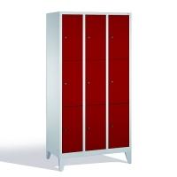 Förvaringsskåp, 9 dörrar, 1850x900x500 mm