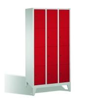 Förvaringsskåp, 12 dörrar, 1850x900x500 mm